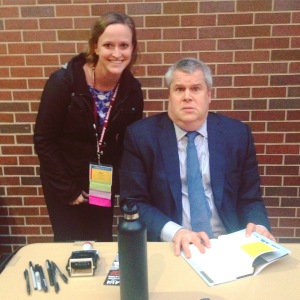 Me with Daniel Handler, AKA Lemony Snicket